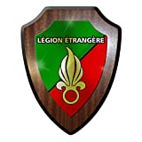 Wappenschild / Wandschild / Wappen - Légion étrangère Fremdenlegion Frankreich Heer Soldaten Bundeswehr Bund Bw Wappen Abzeichen Emblem #9324 w