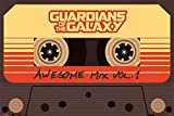 Guardians of the Galaxy Awesome Mix Vol.1 Poster. Offiziell lizenziert