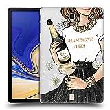 Head Case Designs Funkelndes Champagne Wein Fest Ruckseite Hülle für Samsung Galaxy Tab S4 10.5 (2018)
