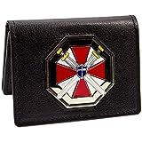 Resident Evil Umbrella Biohazard Black ID Card Holder BiFold Wallet