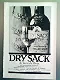 60er Jahre : DRY SACK SHERRY - alte Werbung /Originalwerbung/ Printwerbung /Anzeige /Anzeigenwerbung Format 15,5 x 27,5 cm - 2