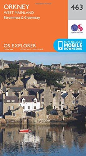 os-explorer-map-463-orkney-west-mainland