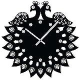 #6: Studio Shubham jewel peacock round handmade wall clock (29cm x 29cm x 5cm)