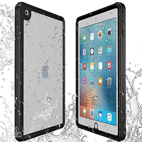 AICase Hülle für iPad 9.7 2018/2017 wasserdichte Hülle,360 Rundum Schutz Transparent Schutzhülle,wasserdicht, schockresistent, mit voller Touchscreen Funktion inkl. Touch ID (Ipad-hüllen Wasserdichte)