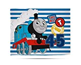 Thomas & Friends Thomas 'Patch' Fleece Decke – Großer Print Design, mehrfarbig