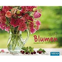 Notizkalender Blumen 2019 Postkartenkalender Wandkalender