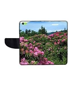 KolorEdge Printed Flip Cover For Apple IPhone 5C -Multicolor (43KeMLogo10843IPhone5C)