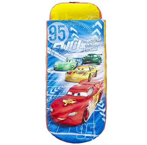 Disney Cars Junior ReadyBed - Kids Airbed and Sleeping Bag in one