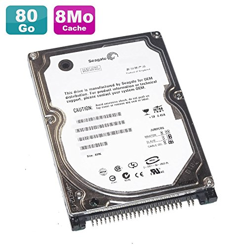 Festplatte Laptop 80 GB IDE 2.5