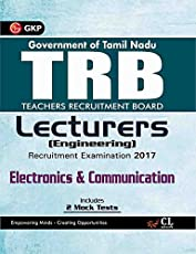 TRB Teachers Recruitment Board Lecturers (Engineering) Electronics & Communication 2017