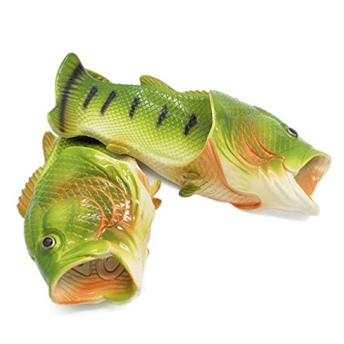 Lalang Fisch Hausschuhe Sommer Strand Pantoffeln Kreative Gift Eltern-Kind Liebhaber Gift Strand Pantoffeln für Damen & Herren Geburtstagsgeschenk (38/39 EU) - 6