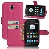 PU Phone Case for ZTE Blade L110 / A110 Folio Flip Soft PU