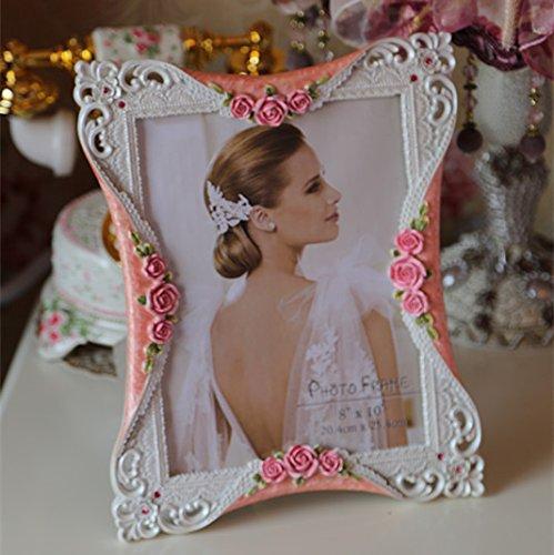 XBR 6 pulgadas _ blanca simple foto europeo 107 pulgadas marco de foto foto de la boda de 6...