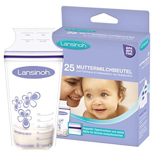 Lansinoh Breastmilk Storage Bags 180ml, Pack of 25 51jQbmcRBwL