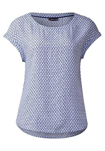 Street One Damen Bluse mit Print Amalia white (weiss)