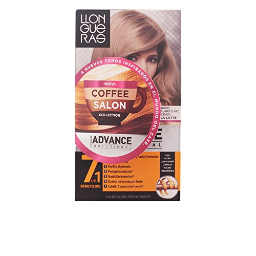 Llongueras Color Advance Colorazione Permanente, Unisex, 9,1 Light Ash - 60 ml