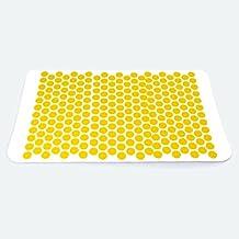 AFH HISTAMAT ABS 2.0   DAS ORIGINAL   ca. 68 x 40 cm   Nadelreizmatte   Akupressurmatte   Farbe: gelb