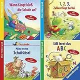 Ravensburger Mini-Bilderspaß 66 - Hurra, ich komme in die Schule (4er-Set)