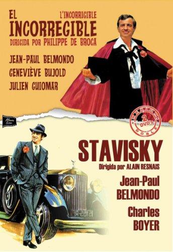 L´Incorrigible - El Incorregible / Stavisky Directores: Philippe de Broga / Alain Resnais Actores: Jean-Paul Belmondo