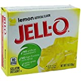 Jell-O au citron Gélatine dessert 85g