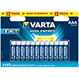 Varta High Energy AAA Batteries - 12-Pack