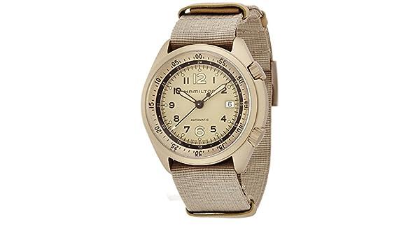 41mm Schweizer Herren Armband Armbanduhr Hamilton Leinen Automatik n0yvwm8OPN