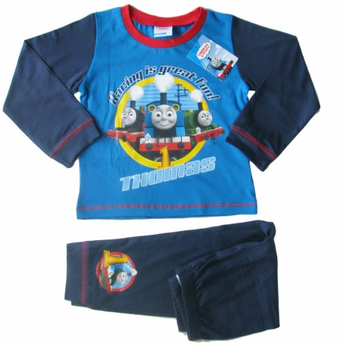 Childrens Boys and Girls Long Sleeve Character Pyjamas Pjs in Kids Age 1 - 10 years