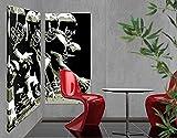 Leinwand Kunstdruck American Football Duo, Leinwand Bilder, Leinwand Kunstdruck, Leinwand Kunstdruck, Leinwand, Leinwand, Art Wand