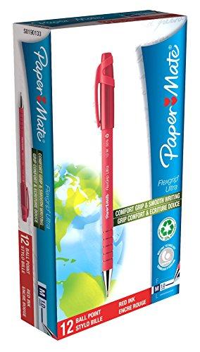 papermate-flexgrip-ultra-kugelschreiber-m-mit-clip-rot