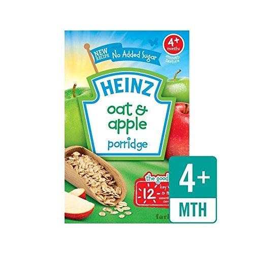 Heinz Petit Avoine Et Pomme Céréales 4 Mths + 125G - Paquet de 2