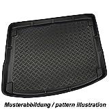 Basic SU MISURA COPRI BAULE tappetino per bagagliaio Vasca portabagagli protezione cofano con alto bordo e Lamiera Grecata ottica Audi Q5 8R ANNO SABBATICO 11.2008