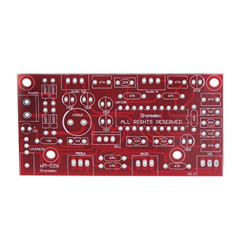ranuw LM1036HiFi Vorverstärker Ton Board Bass Höhen Volume Control Vorverstärker Board Kit Multimedia-volume-control