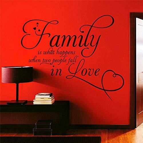 e ist, was passiert, wenn zwei Menschen in Liebe Buchstaben Wandtattoos Schlafzimmer Home Decor Vinyl Aufkleber Diy Hochzeit Dekoration fallen ()