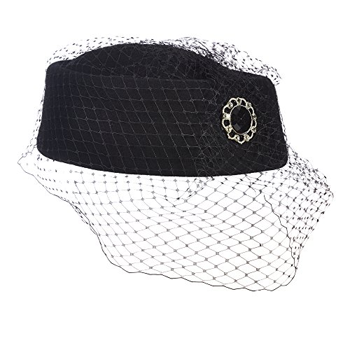 scala-classico-womens-black-pillbox-church-hat-with-netting-black