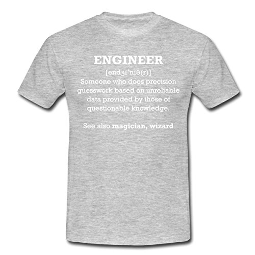 Spreadshirt Engineer Definition Professions Humour Men's T-Shirt