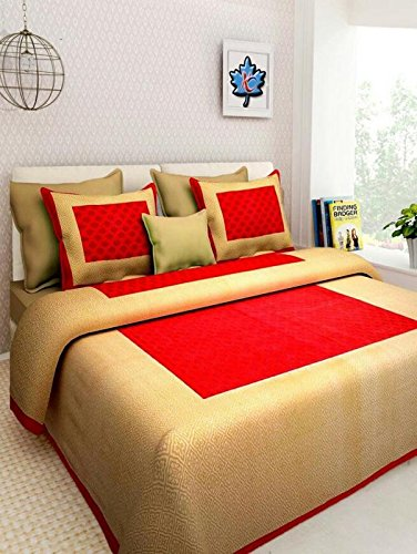 Jaipur-Prints-Double-Bedsheet-with-2-Pillow-Cover-Offer-2-Days-Only