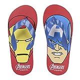 Avengers 2300002986 Sandali a Punta Aperta, Infradito Bambino, Captain America, Iron Man (28/29)