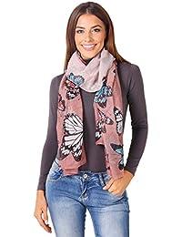 KRISP® Women Printed Scarf Neck Scarves Wrap Stole Shawl