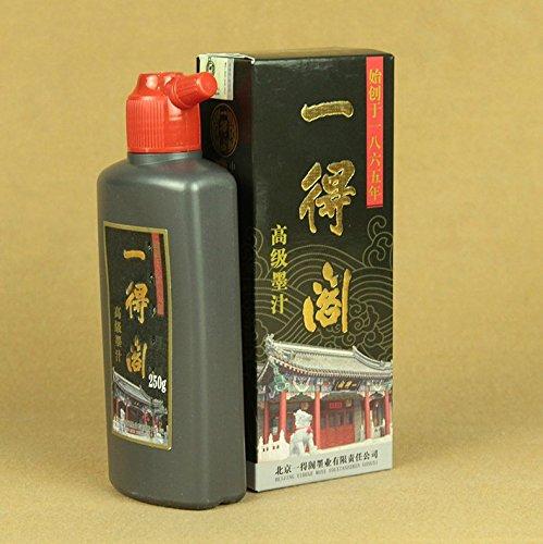 caligrafia-china-japonesa-sumi-e-ink-negro-calidad-de-artista