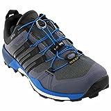 adidas Outdoor Terrex Boost GTX? schwarz/weiß/grau Vista der Schuh Sport 6D (M), Vista Grey/Black/Shock Blue - Größe: 14 D(M) US