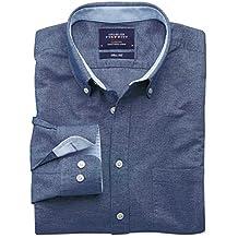 Classic Fit Oxfordhemd in jeansblau