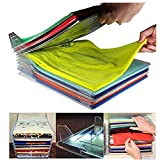 Die besten AUCH Hemd Folders - Closet Organizer Clothing Storage Rack Stacking Board For Bewertungen