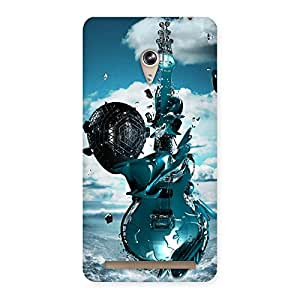 Anime Sky Guitar Back Case Cover for Zenfone 6
