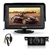 CARCHET® 120°IR Rückfahrkamera Kamera + 4,3' TFT LCD Monitor + Wireless Sender Empfänger