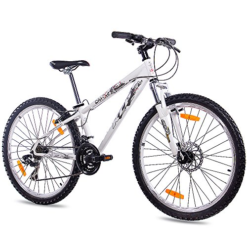 51jQpjOJNoL. SS500  - 26 inch MTB dirt bike, youth bike KCP Dirt One with 21-speed Shimano, in white