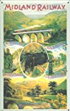 Blechschild Nostalgieschild Midland Railway England Eisenbahn retro Schild