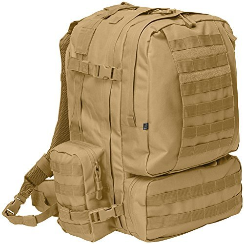 Brandit US Cooper 3-Day Pack Camel (Clam Shell Tasche)