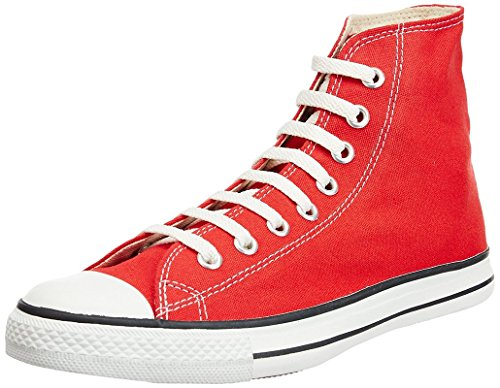 Converse Unisex 03FPL1062 Red Canvas Casual Shoes - 10 UK