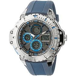 UPhasE Quartz Watch with White Dial Analogue-Digital Quartz Chronograph, 702-160 up