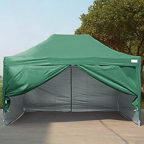 Quictent® 4.5x3m Pop Up Gazebo Waterproof Canopy Heavy Duty Marquee